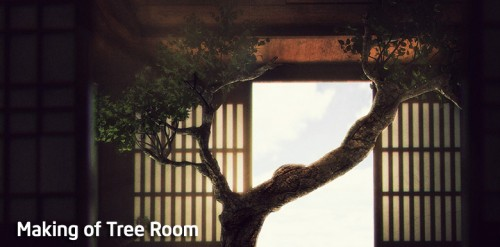 Making of Tree Room