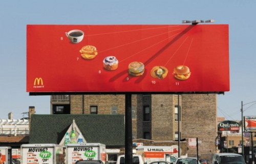 McDonald's Sundial Billboard
