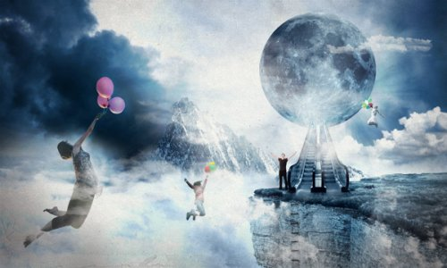 Photo Manipulate an Artistic Cloudscape Scene
