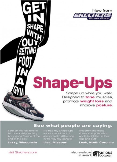 Sketchers Fitness Group Shape Ups