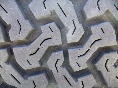 Texture Land Rover Tyre 01