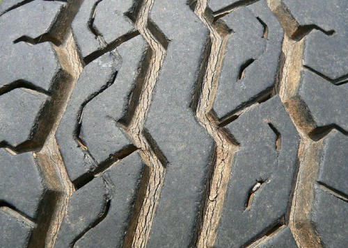 Texture - tire tread