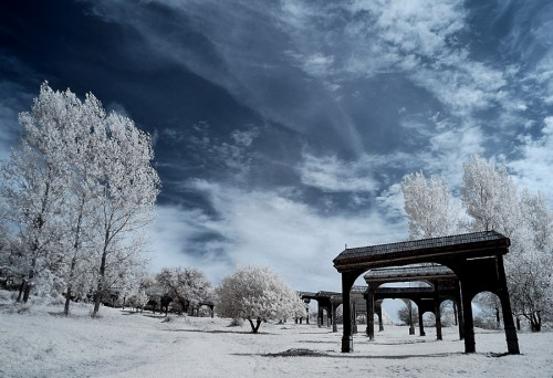 gates to heaven - infrared