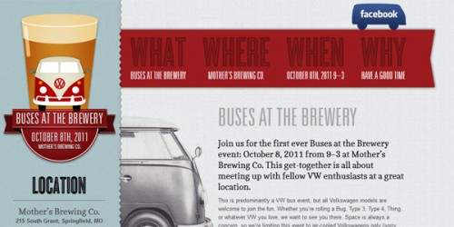 Buses at the Brewery