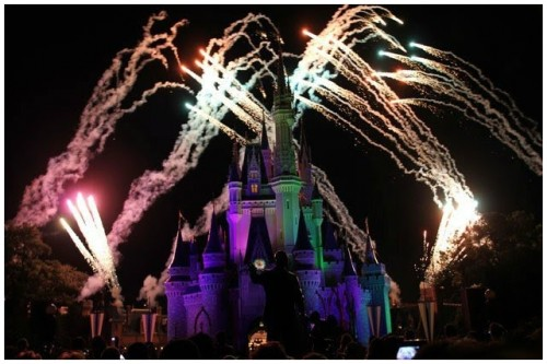Disney and Fireworks