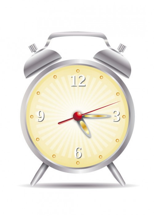 Easy Clock Icon on Illustrator