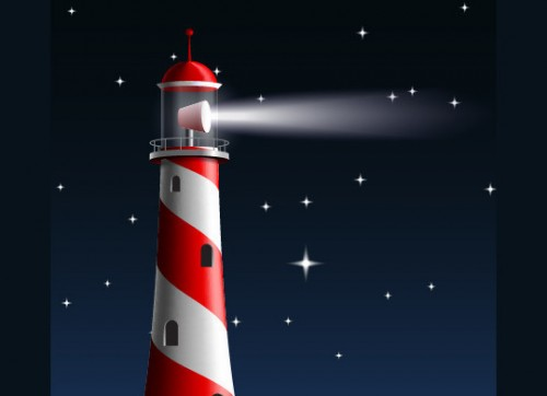 How to Illustrate a Lighthouse