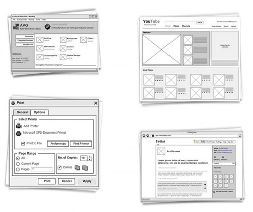 Showcase Of 10 Free Wireframing Tools For Designers
