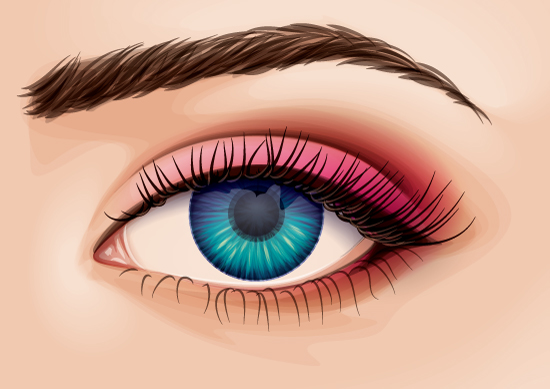 finalCreating a Detailed Eye from Stock in Adobe Illustrator