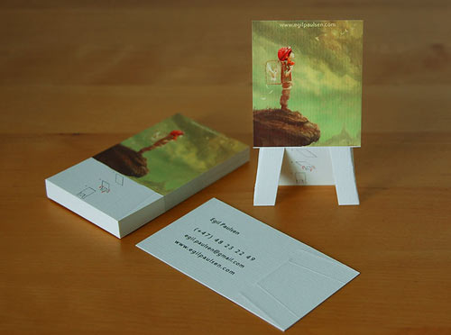 28_Easel Business Card