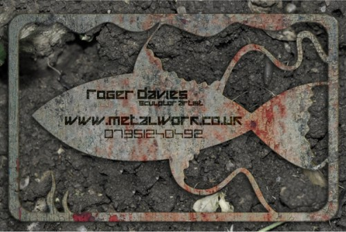 3_Metal Business Card Concept