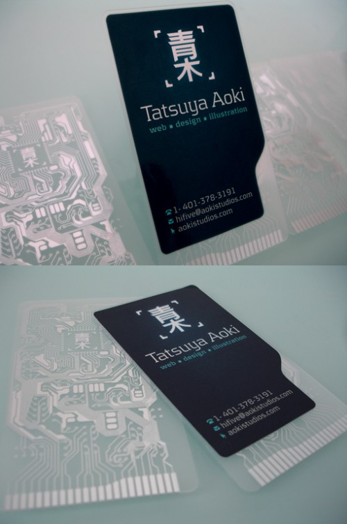 8_Motherboard Business Card
