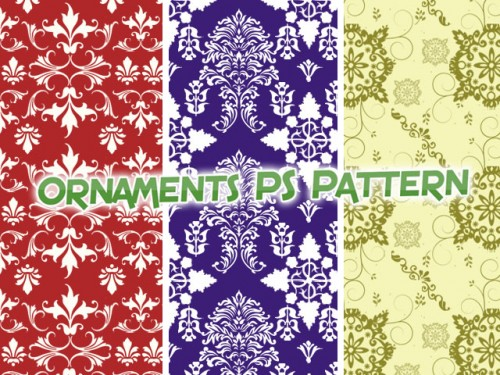 Free Ornament PS Patterns