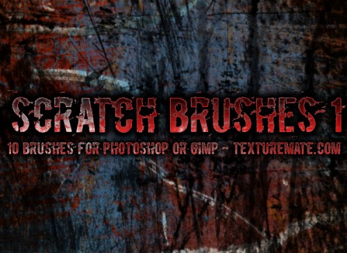 10 Free Scratches for Photoshop