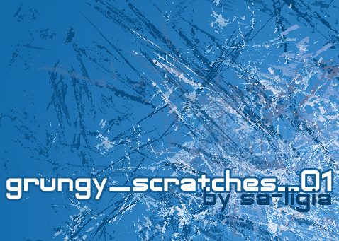 20 Grungy Scratches Brushes