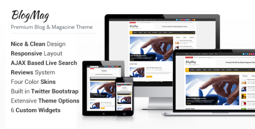 BlogMag - WP Blog and Magazine Theme