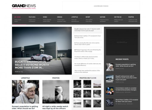 GrandNews - Responsive Rating Magazine Theme