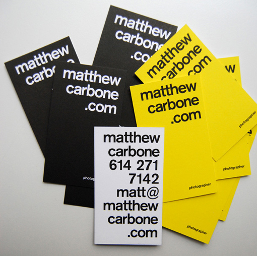 20 amazing typography business cards examples creativeherald 20 amazing typography business cards examples reheart Images