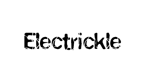 electric font images