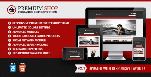 Ultimateshop - Responsive HTML5 Prestashop Theme