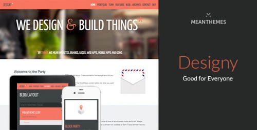 Designy - Design Led Business WordPress Theme