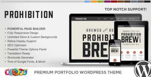 WP Prohibition Responsive WordPress Theme