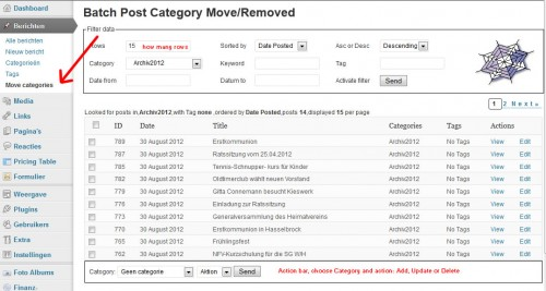 Batch-Move Posts WP Plugin