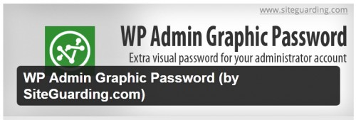WP Admin Graphic Password