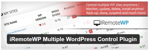 iRemoteWP Multiple WordPress Control