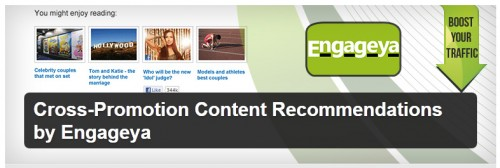 Cross-Promotion Content Recommendations by Engageya