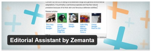 Editorial Assistant by Zemanta