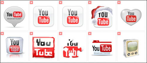 10 Youtube Icons Free Download