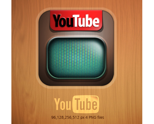 Dock Icon for YouTube