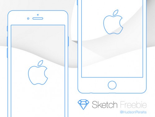iPhone 6 & 6 Plus Wireframe