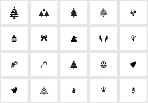 130 Free Christmas Icons for Free Download