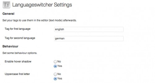 Languageswitcher