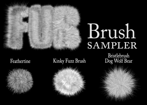 13 Free Photoshop Fur Brushes