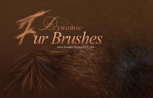 Free Dynamic Fur Brushes for Photoshop