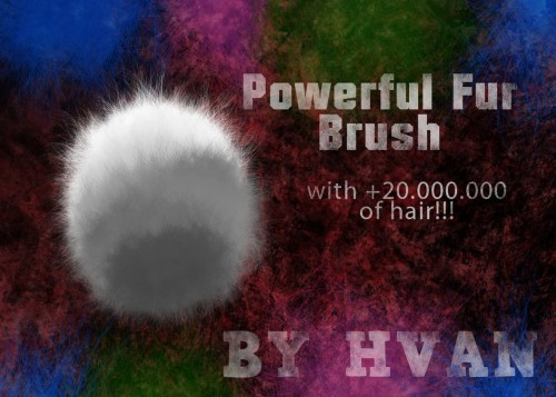 Powerful Fur Brush for Photoshop
