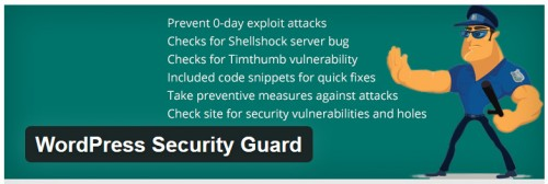 WordPress Security Guard