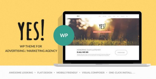 YES - Advertising & Creative Agency WP Theme