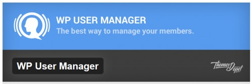 WP User Manager