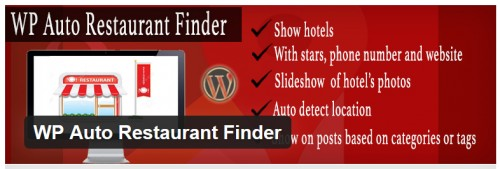 WP Auto Restaurant Finder