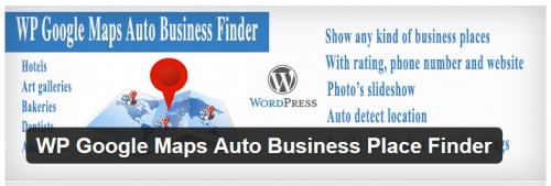 WP Google Maps Auto Business Place Finder