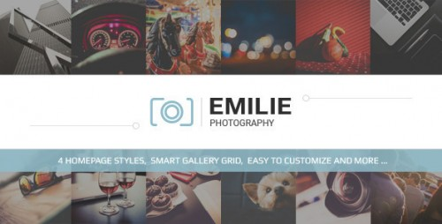 Emilie - Photography Portfolio WordPress Theme