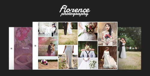 Florence - Wedding Photography WordPress Theme