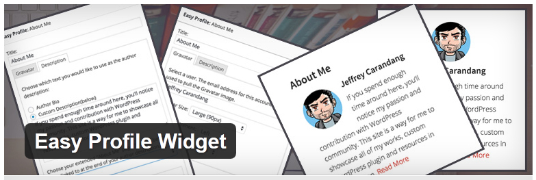 10 Must Have Free About Me Widgets for WordPress - CreativeHerald