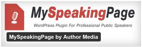 MySpeakingPage by Author Media