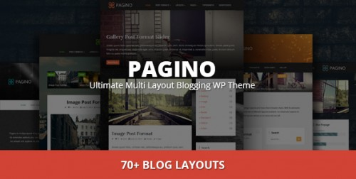 Pagino - Top Responsive WP Theme