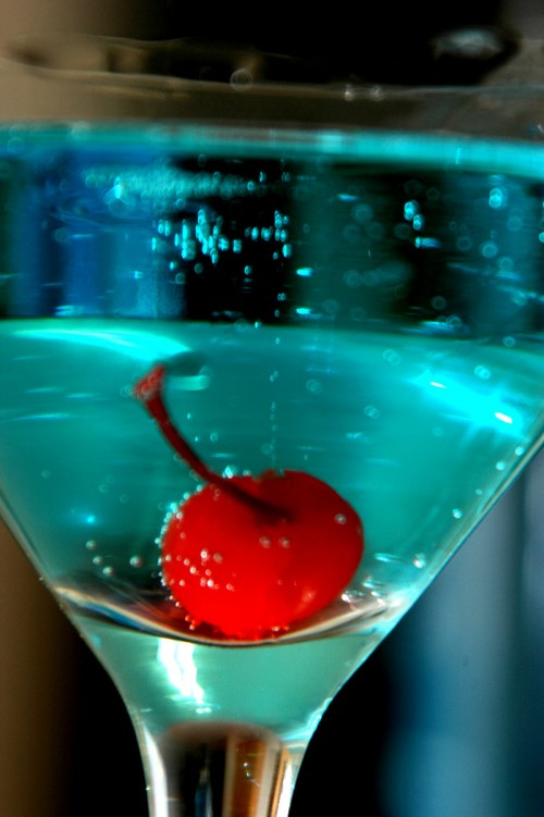 Still Life: Blue Martini